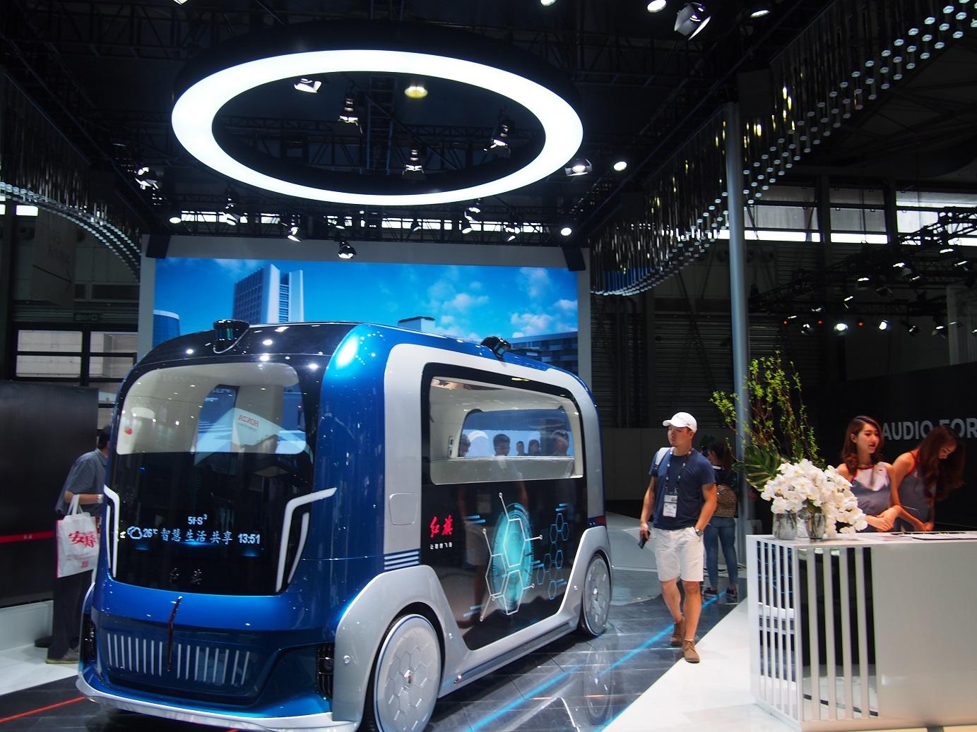 Autonómny autobus pre MHD budúcnosti