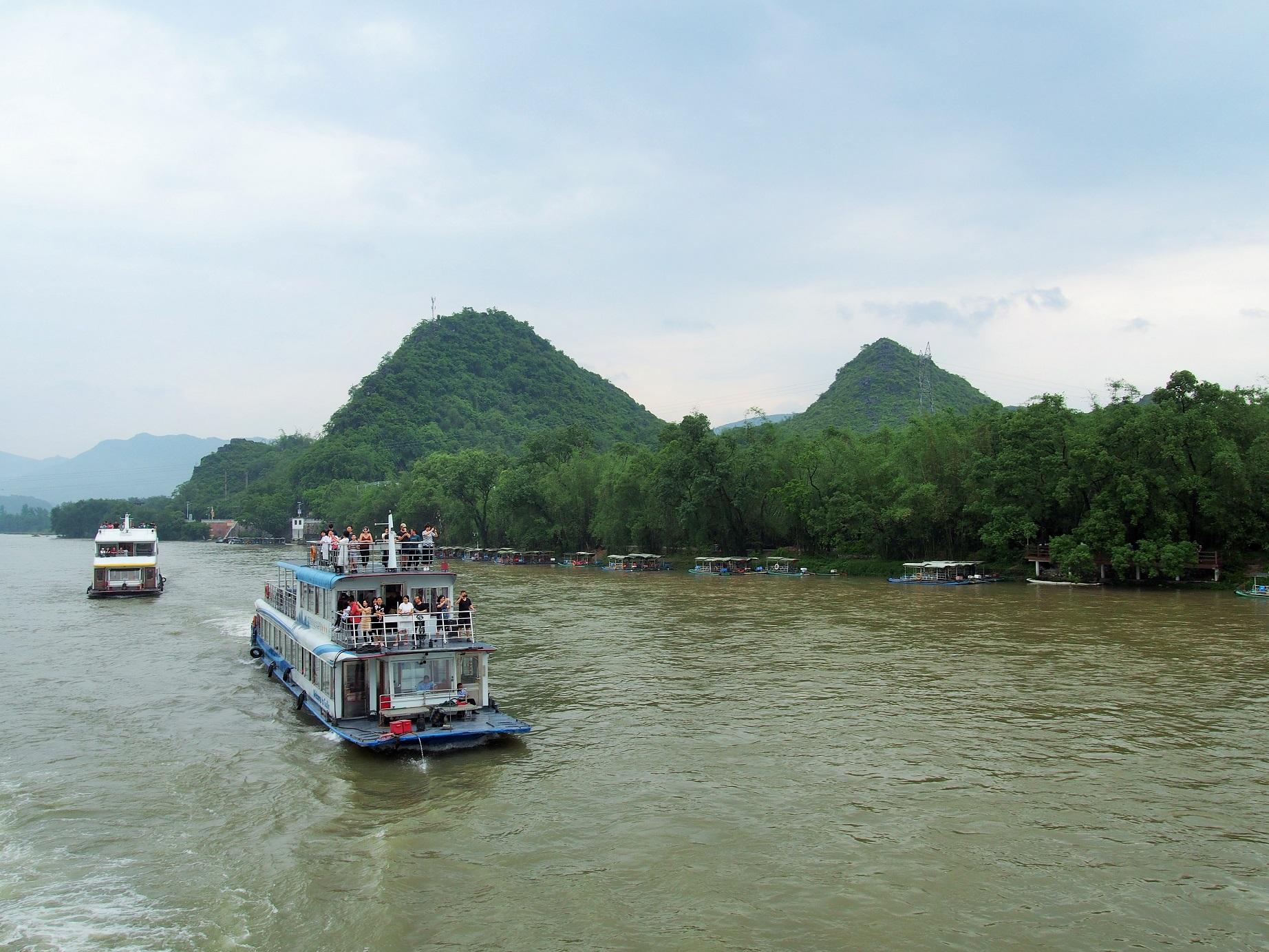 Canton Fair výlet Yangshuo