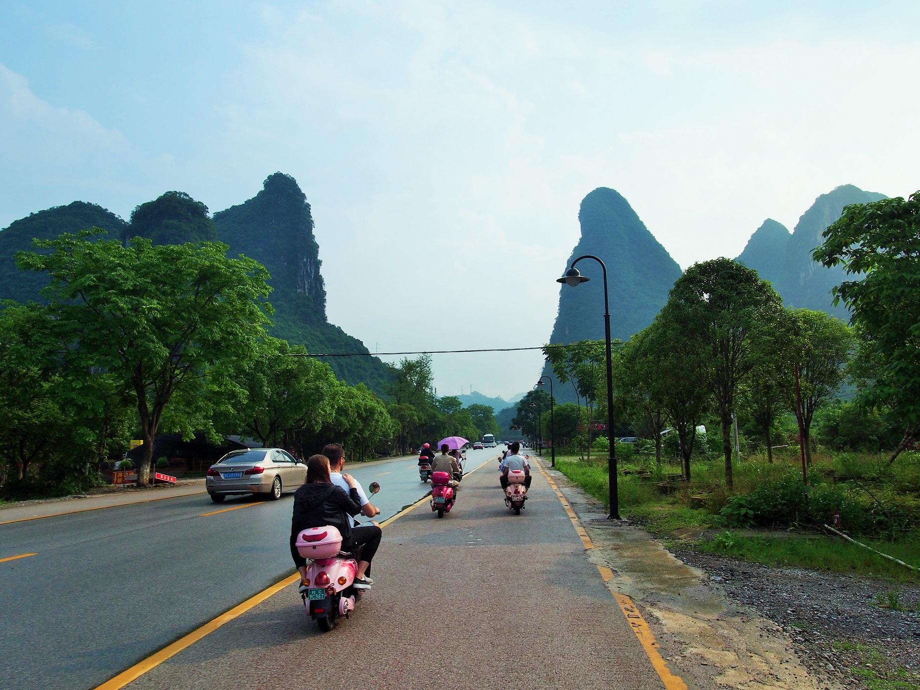 Spoznávanie Yangshuo
