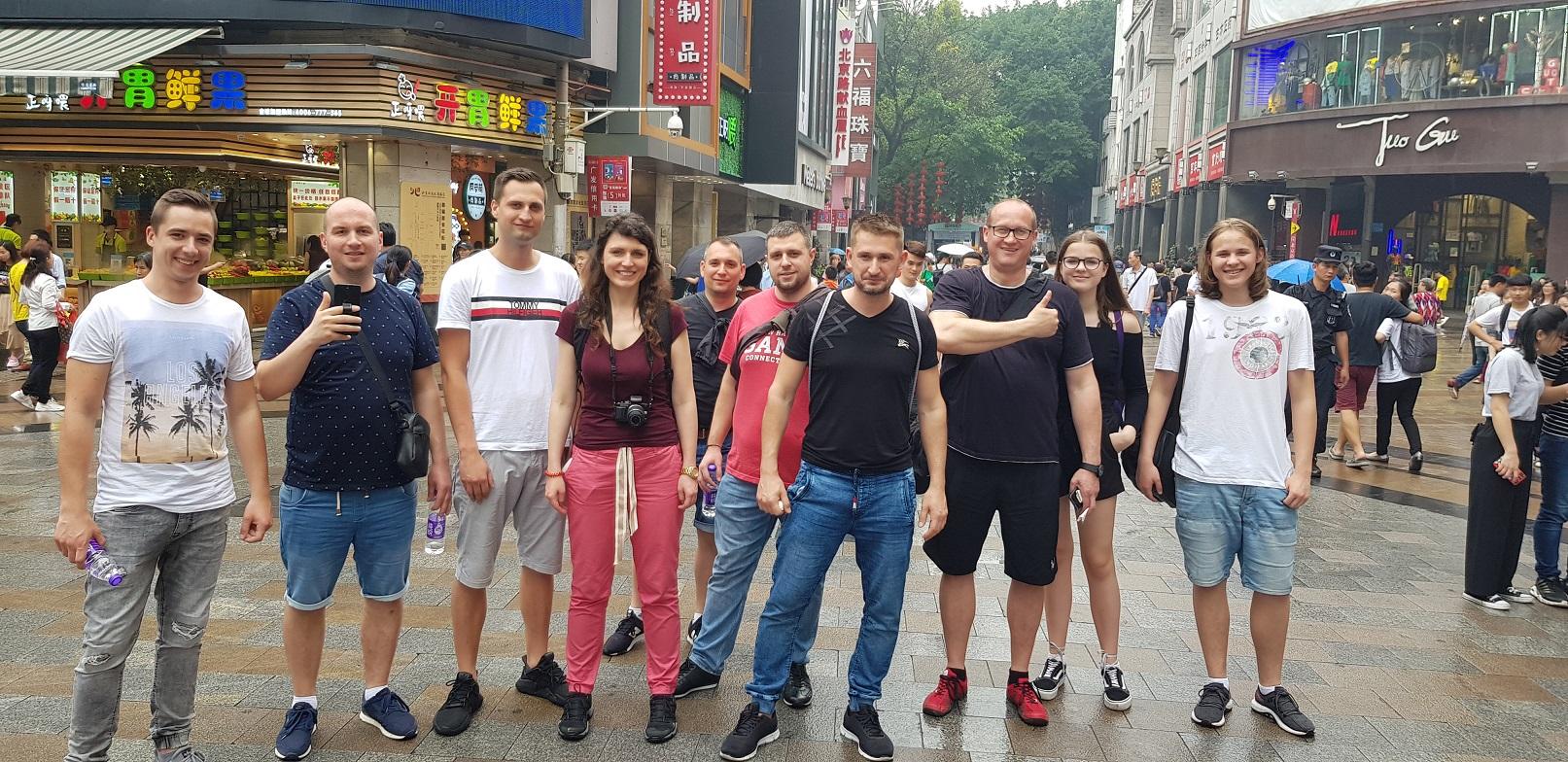 výlet v guangzhou