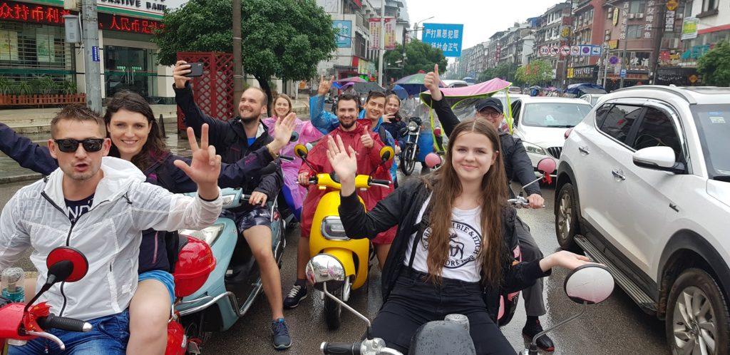 Výlet počas pracovnej cesty do Číny