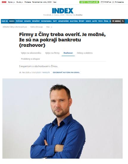 Michal Malík pre Denník SME
